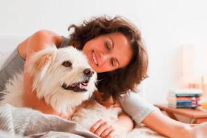 Enger Kontakt mit Haustieren, die unter einem Wurmbefall leiden, kann das Risiko einer Zoonose erhöhen. © Bayer Vital GmbH