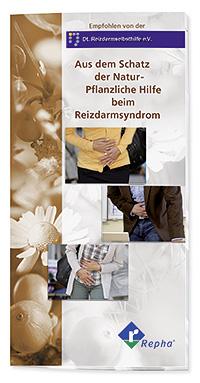 """Broschüre """"Pflanzliche Hilfe beim Reizdarmsyndrom"""" © www.pflanzliche-darmarznei.de"""