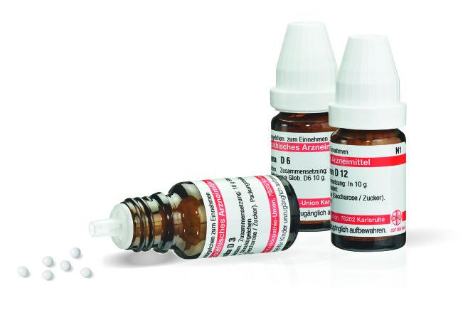 homöopathische Arzneimittel gegen Rückenbeschwerden (Foto © DHU)
