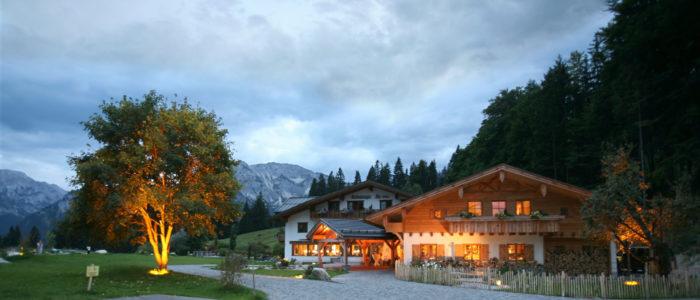Schlossanger Alp Aussenansicht