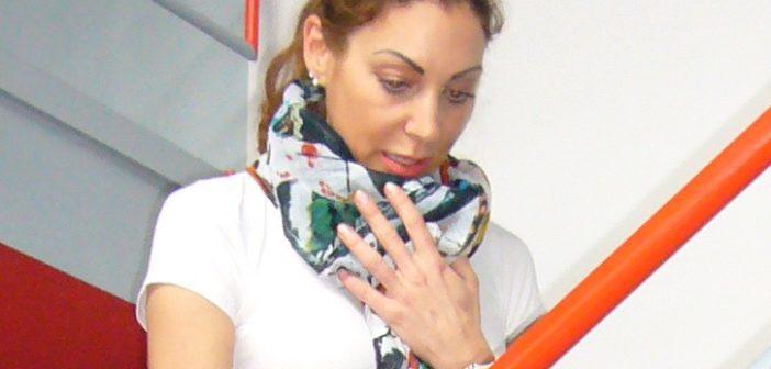 Frau mit Lungenhochdruck (Foto: Bayer Vital)