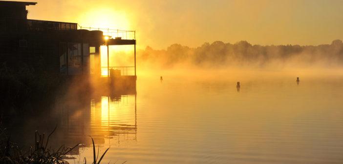 Blick auf Seesauna (Foto © Resort Mark Brandenburg)