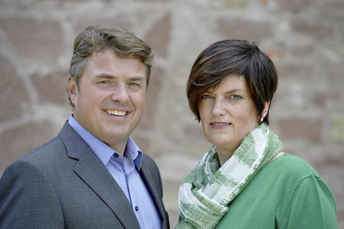 Stolze Besitzer: Christiane und Edelbert Lösch