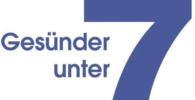 Gesünder unter 7 Logo
