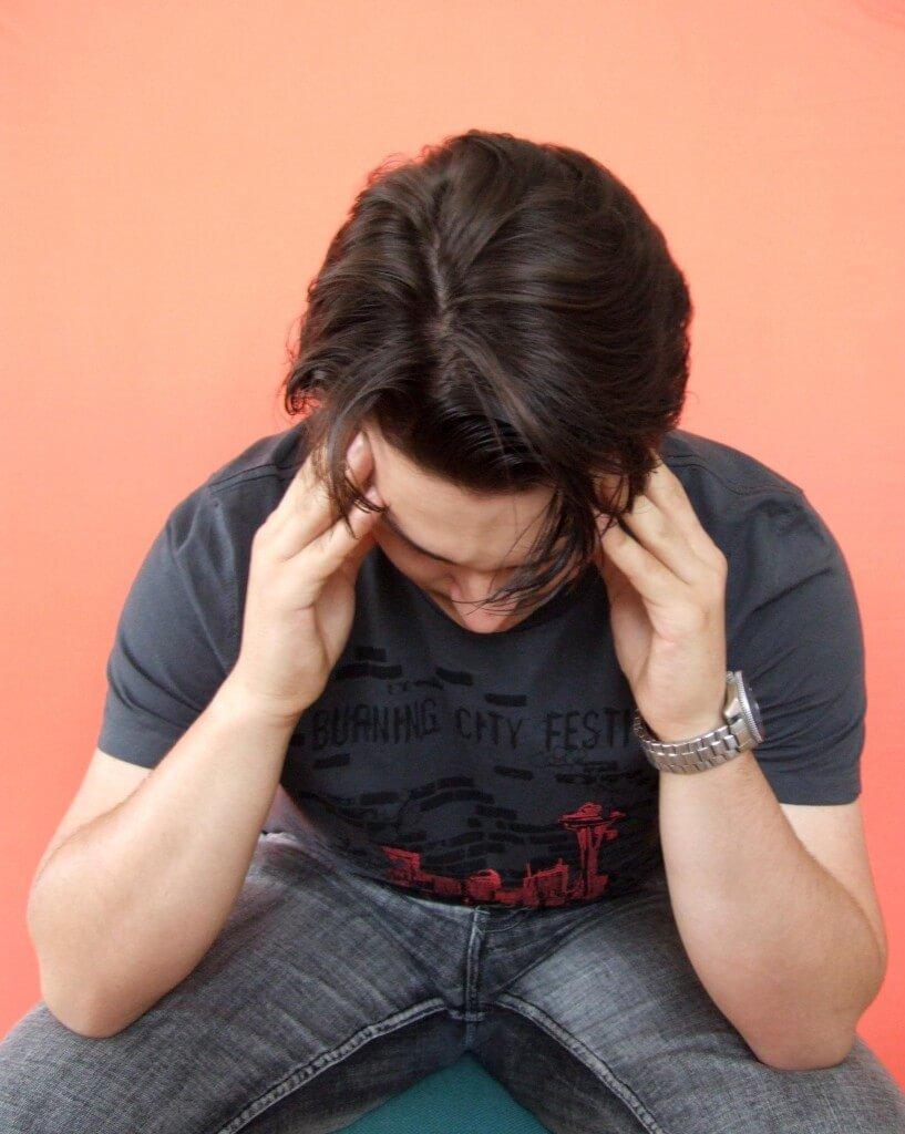 Migräne bei Männern: aufs Herz achten