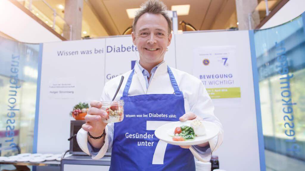 Koch der Fußball-Nationalmannschaft macht sich für Diabetes stark