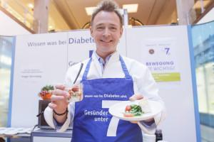 Holger Stromberg macht sich für Diabetes stark (Foto © Sanofi)