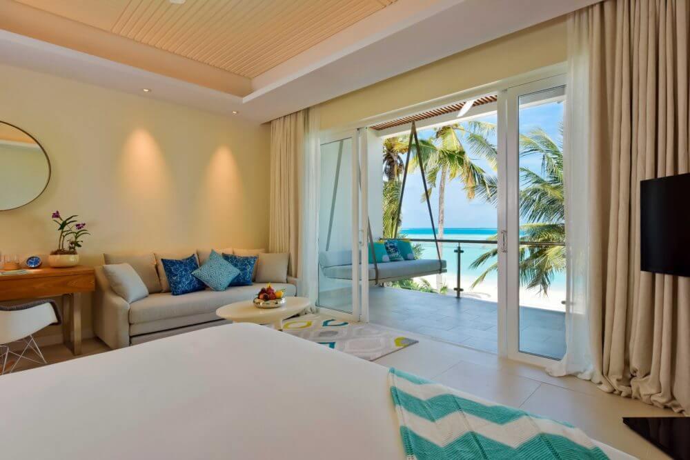 Hotelausblick (Foto © Kandima Maldives)