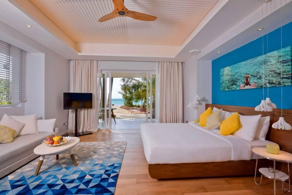 Hotelzimmer Innenansicht (Foto © Kandima Maldives)