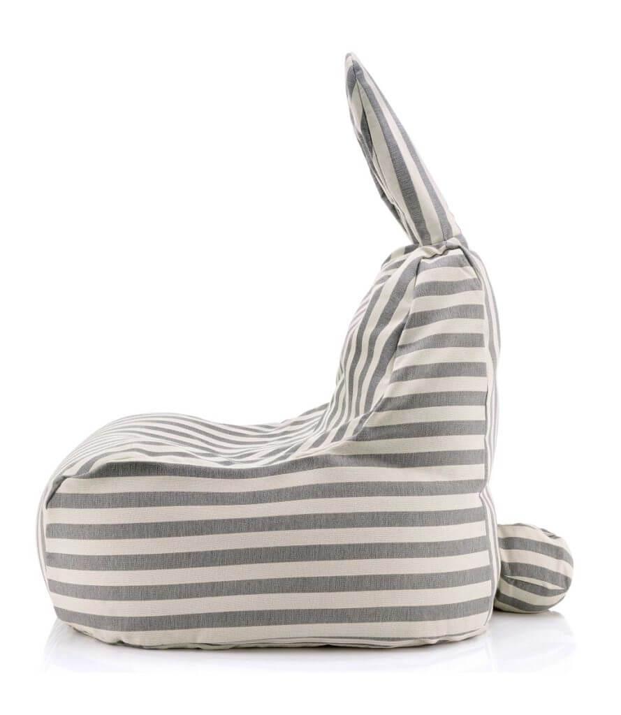 Frohe Ostern! Urgemütlicher Hasen-Design-Sitzsack