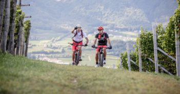 Biken in den Dolomiten (Foto © Dennis Stratmann)