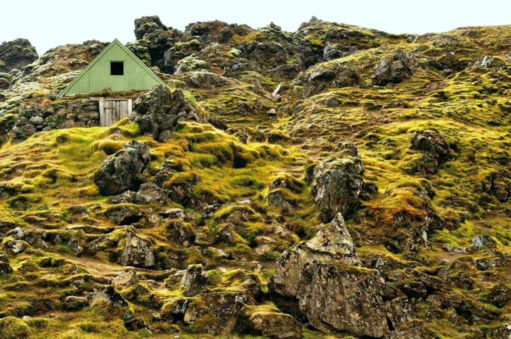Haus in Lavakruste