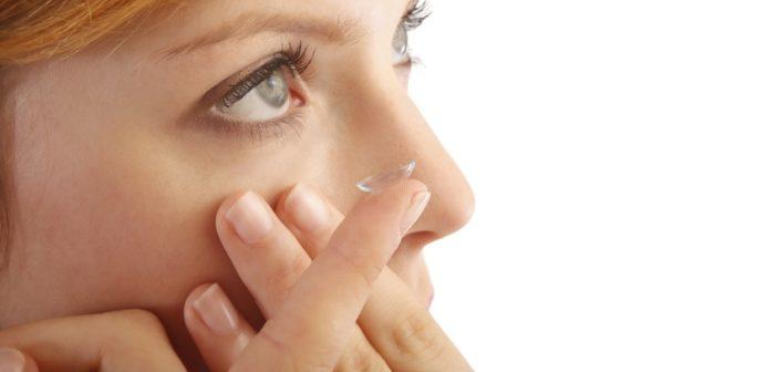 Trockene Augen durch Kontaktlinsen