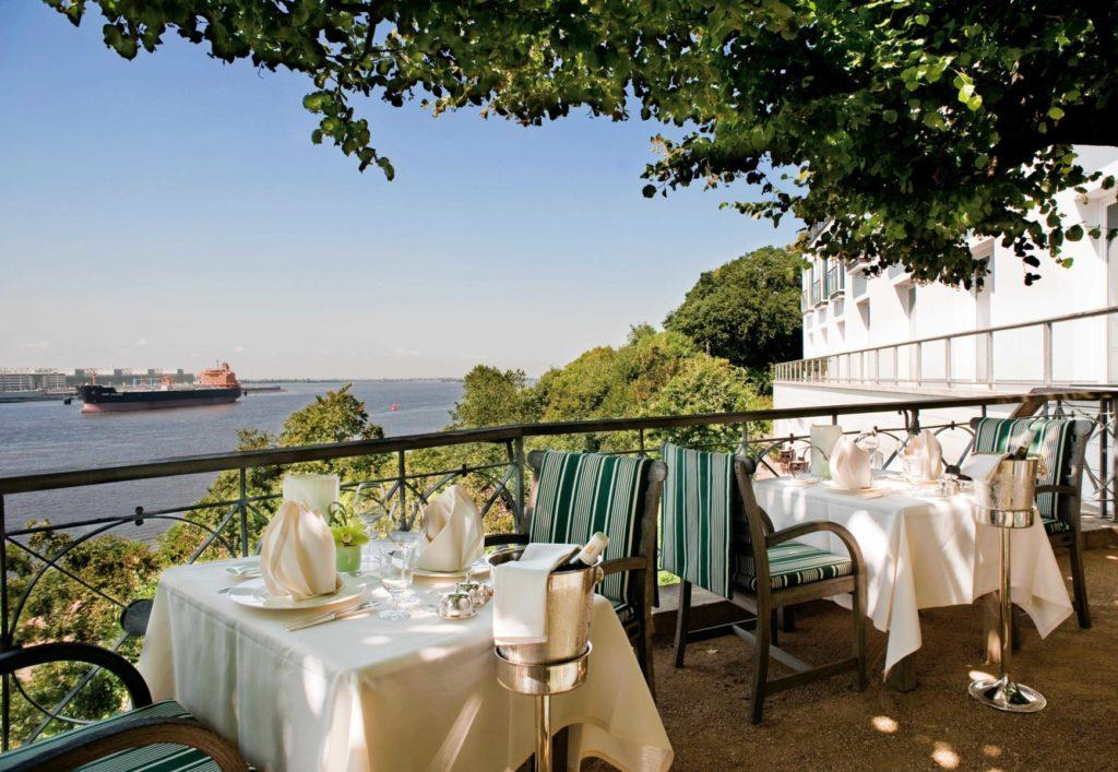Lindenterrasse - Hotel Louis C. Jacob