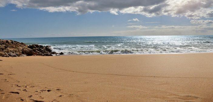 Strand und Meer in Algarve