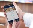 Smartphone mit der neuen Nagelpilz-App