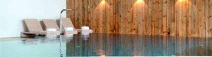 Schwimmbad vom Golf Resort Achental