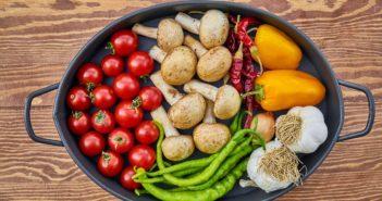 Gemüse in dem Meso Nährstoffe enthalten sind