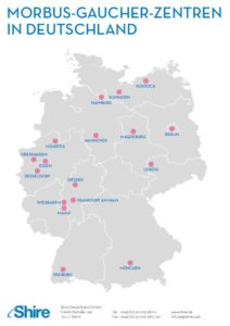 Morbus Gaucher Zentren in Deutschland