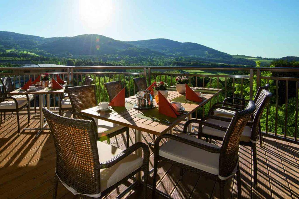 BioGut Retter Hotel und Restaurant - Terrasse