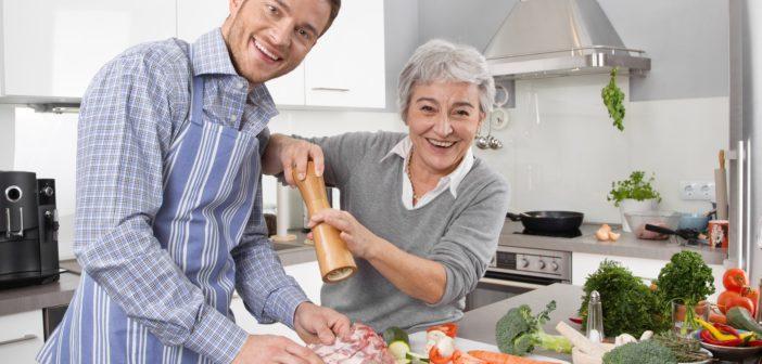 Leckere Gerichte für Patienten mit Parkinson.