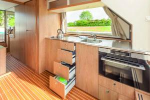 Locaboat Küche