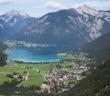 Schöner Blick auf den Achensee in Tirol