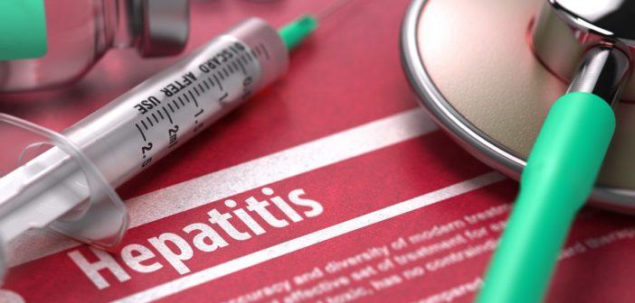 Spritze für die Hepatitis B Impfung