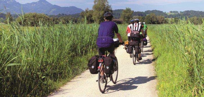 Radtour durch die bayerischen Alpen