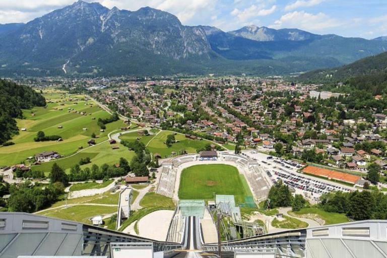 Radtouren Bayern Ansicht von oben