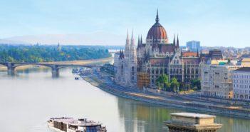 Kreuzfahrt mit der Primadonna über die Donau durch Budapest