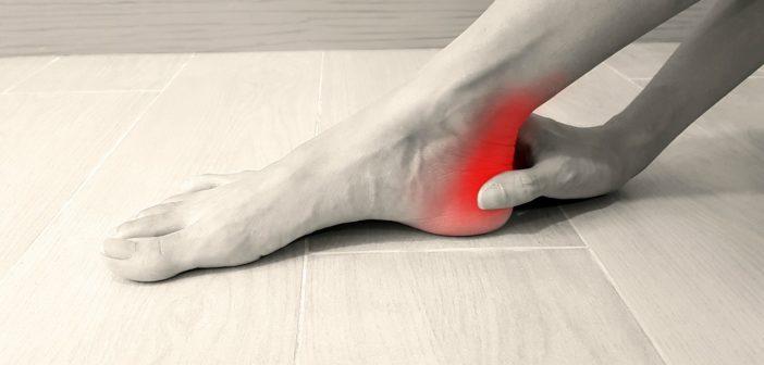 Schmerzen an der Ferse - dorsaler Fersensporn