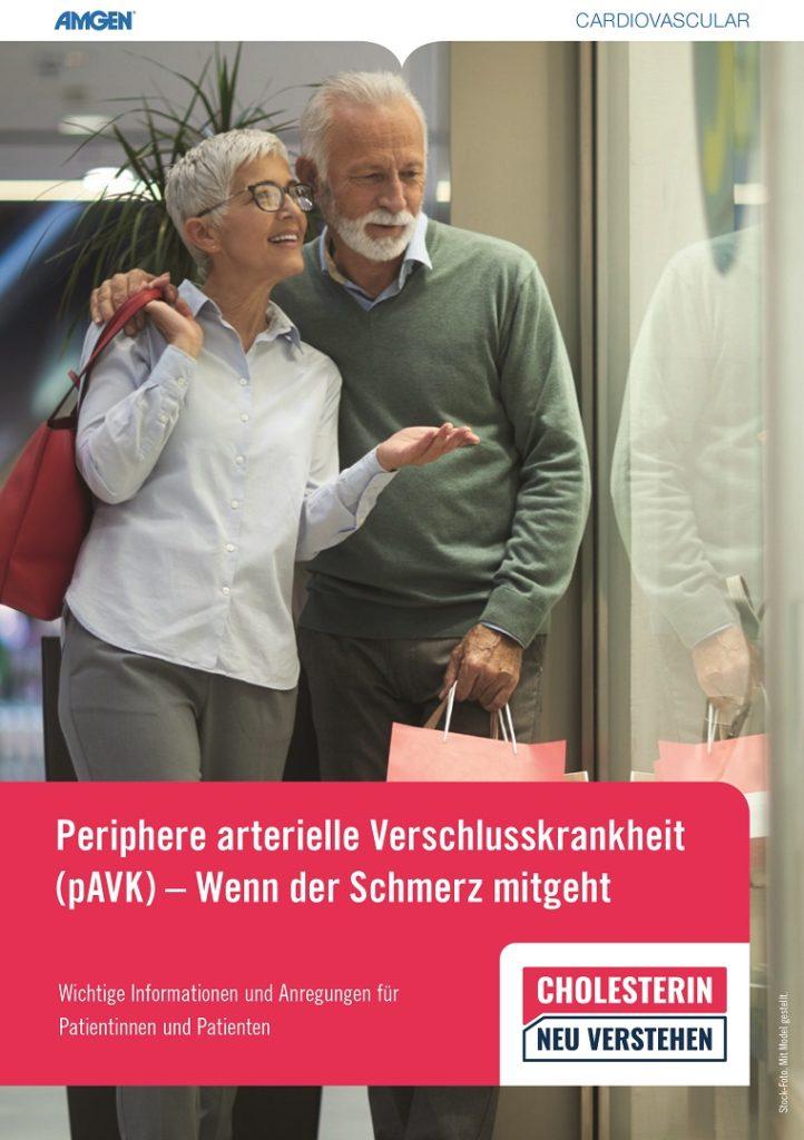 pAVK, periphere arterielle Verschlusskrankheit - Broschüre