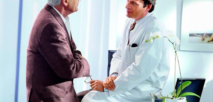 Arztgespräch zur Krebsvorsorge