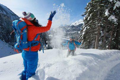Winterwandern im Lechtal ( Foto © Alpenrose)